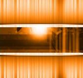 Priorità bassa astratta di affari di alta tecnologia Fotografia Stock Libera da Diritti