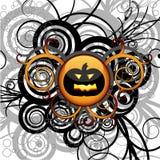 Priorità bassa astratta di Halloween Fotografia Stock Libera da Diritti