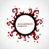 Priorità bassa astratta di Halloween Immagini Stock
