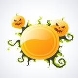 Priorità bassa astratta di Halloween Fotografie Stock Libere da Diritti
