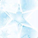 Priorità bassa astratta di inverno illustrazione di stock