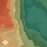 Priorità bassa astratta di paesaggio mosaico illustrazione di vettore 3d Fotografie Stock