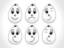Priorità bassa astratta di pasqua, uova Fotografie Stock Libere da Diritti