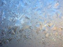 Priorità bassa astratta di struttura di inverno dei fiocchi di neve Immagine Stock Libera da Diritti