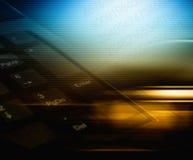 Priorità bassa astratta di tecnologia Fotografie Stock Libere da Diritti