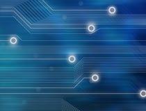 Priorità bassa astratta di tecnologia Immagini Stock Libere da Diritti