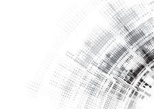 Priorità bassa astratta di tecnologia Interfaccia futuristica di tecnologia Vecto Immagine Stock