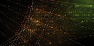 Priorità bassa astratta di tecnologia Interfaccia futuristica di tecnologia Vettore Immagini Stock Libere da Diritti