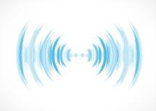 Priorità bassa astratta di tecnologia Interfaccia futuristica di tecnologia Vettore Immagine Stock Libera da Diritti