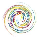 Priorità bassa astratta di turbinio per il vostro disegno Fotografia Stock
