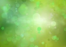 Priorità bassa astratta di verde blu royalty illustrazione gratis