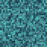 Priorità bassa astratta di vettore Consiste degli elementi geometrici Gli elementi hanno una forma quadrata e un colore different Immagini Stock
