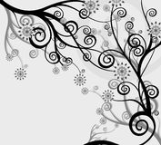 Priorità bassa astratta - fiori e la natura Immagini Stock