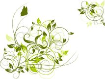 Priorità bassa astratta floreale, vettore royalty illustrazione gratis