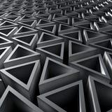 Priorità bassa astratta geometrica Fotografia Stock