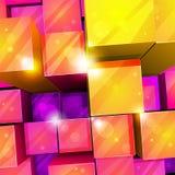 priorità bassa astratta luminosa 3d Immagini Stock