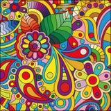Priorità bassa astratta multicolore illustrazione vettoriale