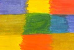 Priorità bassa astratta multicolore Pittura dell'acquerello Illustrazione royalty illustrazione gratis