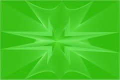 Priorità bassa astratta nel verde illustrazione vettoriale