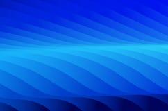 Priorità bassa astratta nera e blu Fotografia Stock