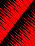 Priorità bassa astratta nera rossa. Fotografia Stock