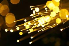 Priorità bassa astratta ottica della fibra Fotografia Stock