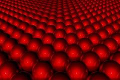 Priorità bassa astratta rossa 3D Fotografia Stock