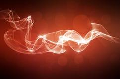 Priorità bassa astratta rossa del fumo Fotografie Stock Libere da Diritti