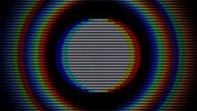 Priorità bassa astratta variopinta Cerchi lucidi illustrazione vettoriale