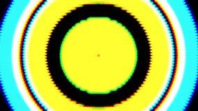 Priorità bassa astratta variopinta Cerchi lucidi Indicatori luminosi variopinti vaghi Cerchi d'ardore astratti Punti astratti gra illustrazione di stock