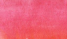 Priorità bassa astratta variopinta Materiale di riempimento rosa saturato dipinto a mano dell'acquerello su una carta strutturata fotografie stock