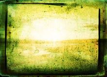 Priorità bassa astratta verde Fotografie Stock