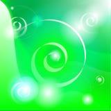 Priorità bassa astratta verde Illustrazione di Stock