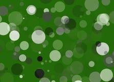 Priorità bassa astratta verde del puntino Fotografie Stock
