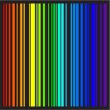 Priorità bassa - bande di vettore nei colori del Rainbow Fotografia Stock Libera da Diritti