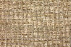 Priorità bassa beige del tessuto del tweed Fotografie Stock