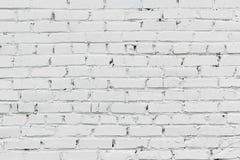 Priorità bassa bianca del muro di mattoni Immagini Stock