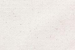 Priorità bassa bianca di struttura della tela di canapa immagine stock