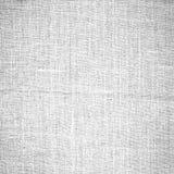 Priorità bassa bianca di struttura della tela di canapa Fotografia Stock Libera da Diritti