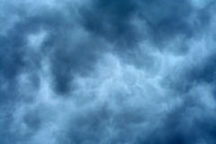 Priorità bassa bianca e blu Fotografia Stock