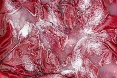 priorità bassa Bianco-rossa - presoak della lavanderia Immagine Stock