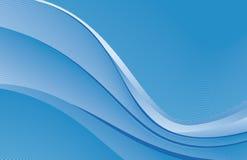 Priorità bassa blu Fotografia Stock
