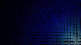 Priorità bassa blu alta tecnologia Immagine Stock Libera da Diritti