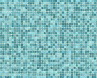 Priorità bassa blu approssimativa delle mattonelle Fotografie Stock