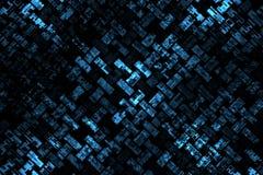 Priorità bassa blu astratta Fotografia Stock
