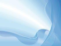 Priorità bassa blu astratta Immagini Stock Libere da Diritti