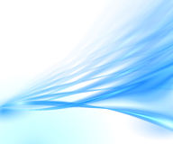 Priorità bassa blu astratta Fotografie Stock