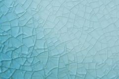 Priorità bassa blu astratta con le crepe Immagini Stock