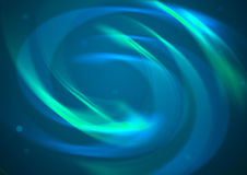 Priorità bassa blu astratta di vortice Immagine Stock