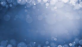 Priorità bassa blu-chiaro di Defocus Fotografia Stock
